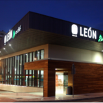 High speed train station in León