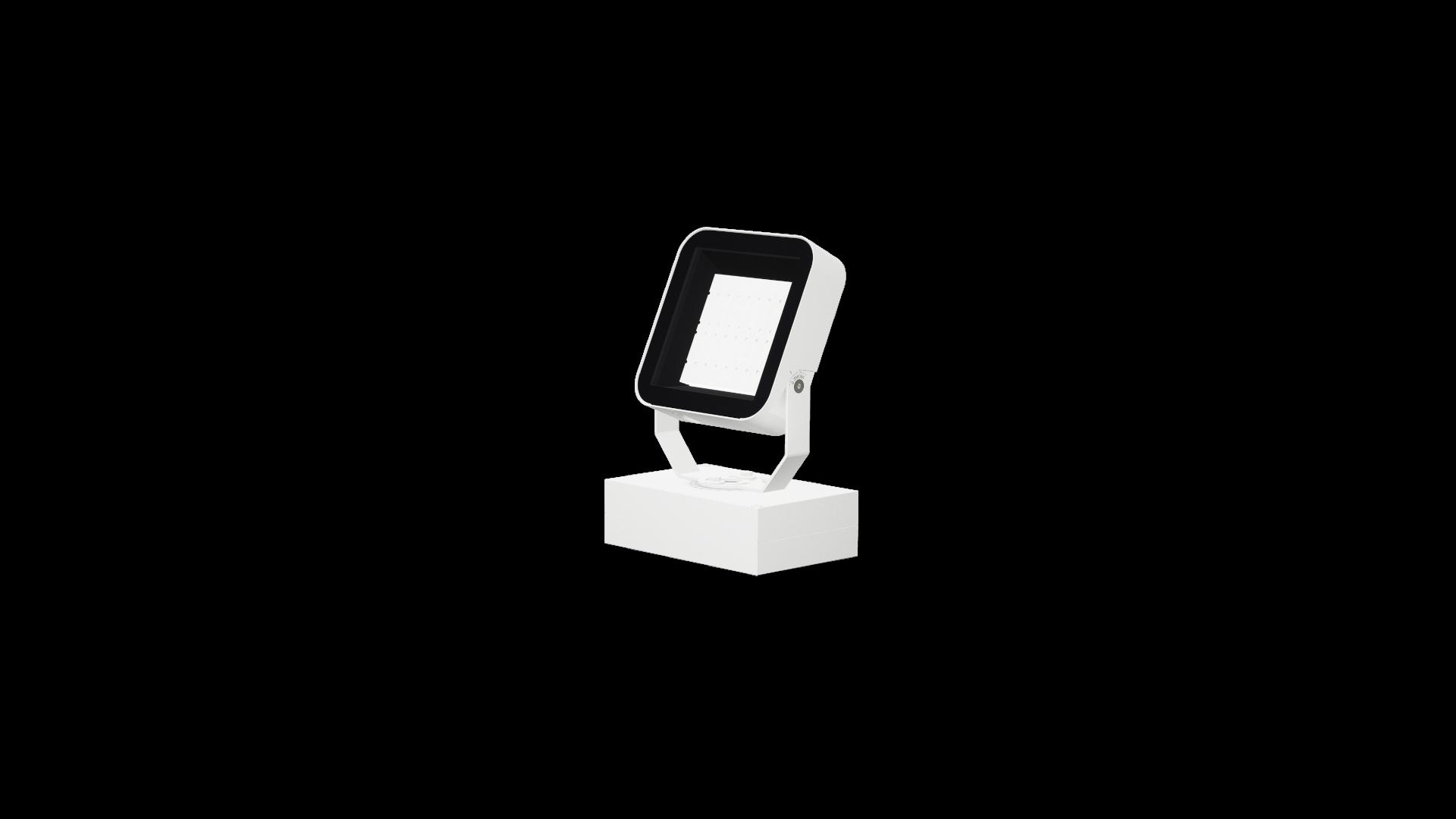 PHOCUX QL B 40W TBLx11 XO con cierre transparenteReflectorNegro Blanco_HR_escala
