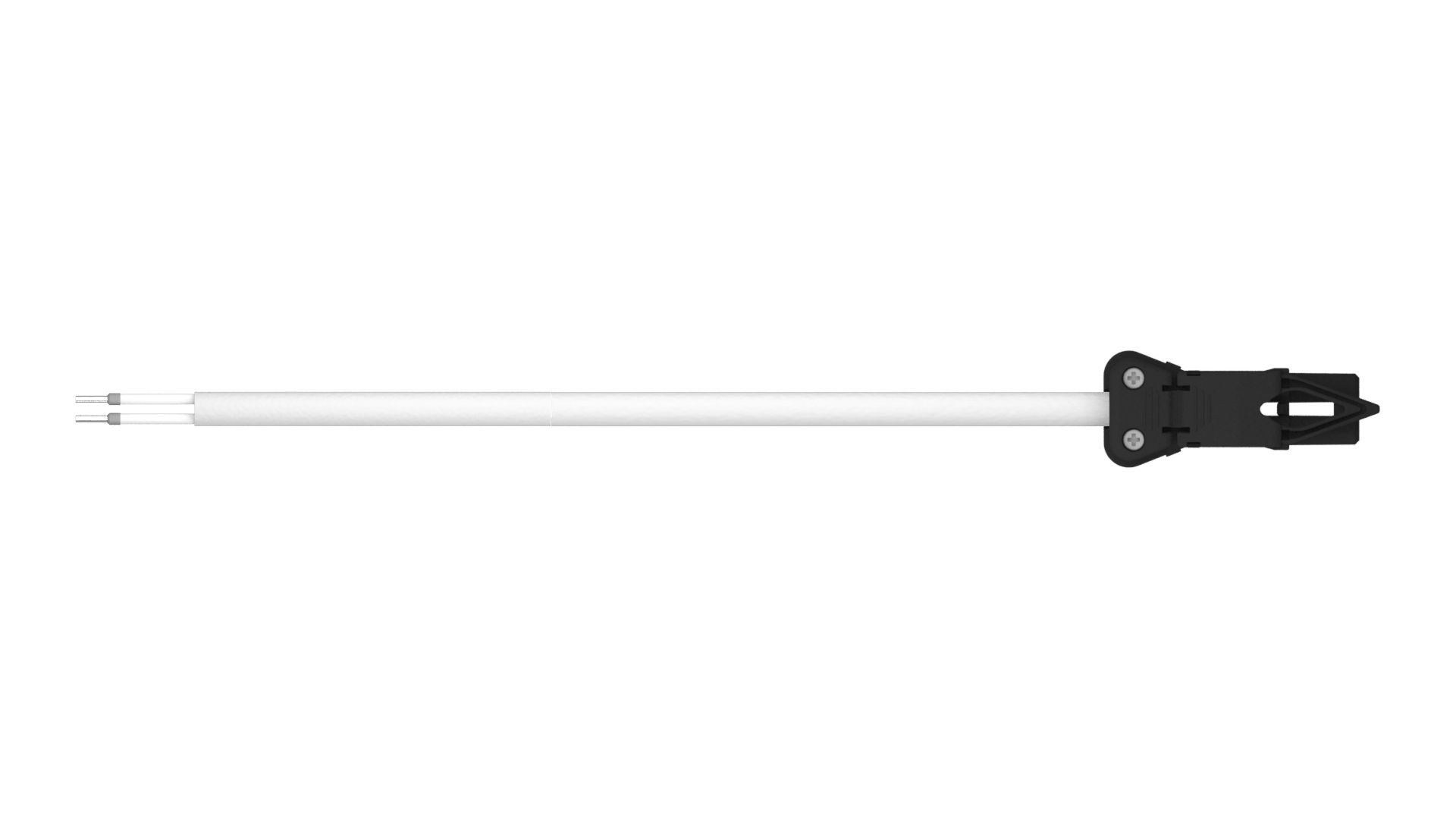 Cable inicio puntera final 1 conector SA 1H 2P negro_HR_zoom x6