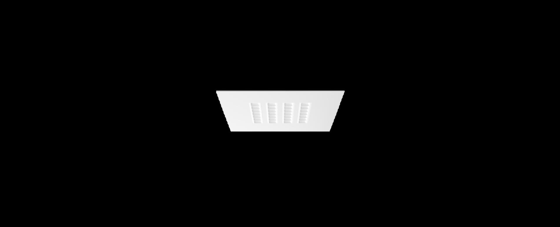 MODUX PL2 empotrado con borde reflector blanco blanco 1920x780px